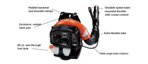 ECHO PB-770 Backpack Blower Diagram Safford Alabama