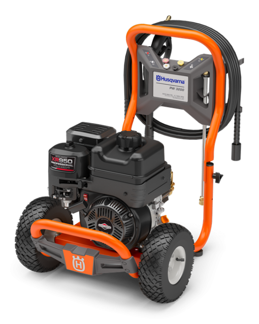 Husqvarna 3200 PSI Horizontal Shaft Gas Pressure Washer