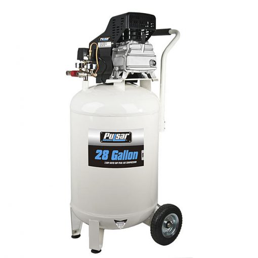 Pulsar 28 gal. Vertical Oil-Lube Air Compressor