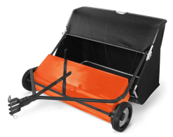 Husqvarna 42in Lawn Sweeper with Spiral Brush