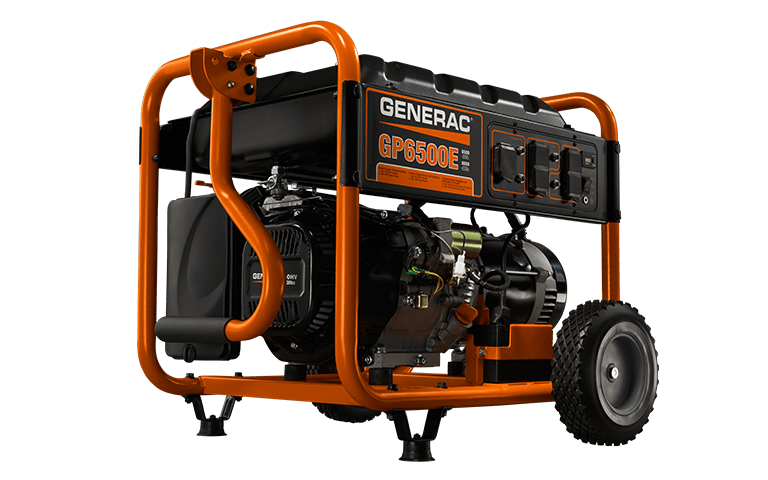 Generac Gp Series 6500e Portable Generator  5941