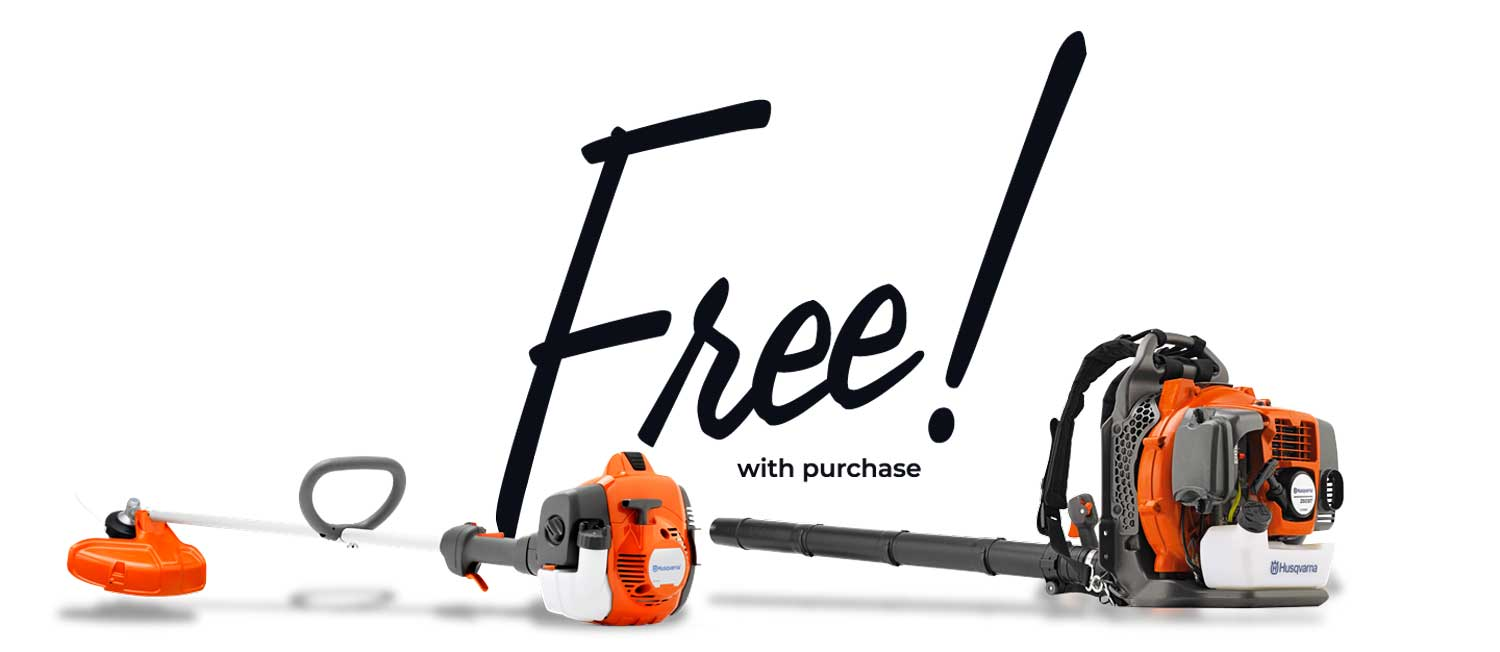 Free blower and trimmer picture